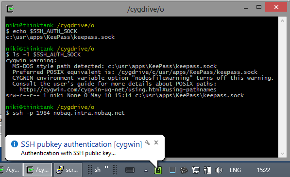 PuttyAgent now supports openssh/cygwin/msys – NOBAQ